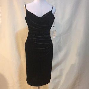 Chinese Laundry velvet black dress